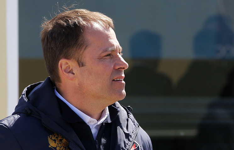 Russian Federal Space Agency (Roscosmos) Head Igor Komarov
