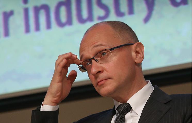 Rosatom CEO Sergey Kirienko