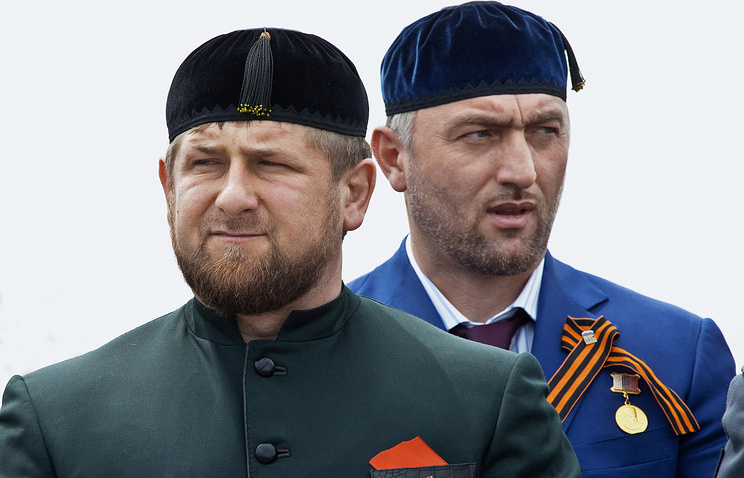 Ramzan Kadyrov and Adam Delimkhanov