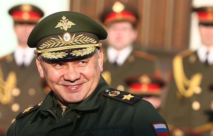 Sergey Shoigu