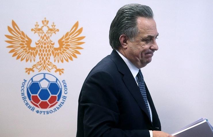 Russia's sports minister Vitaly Mutko