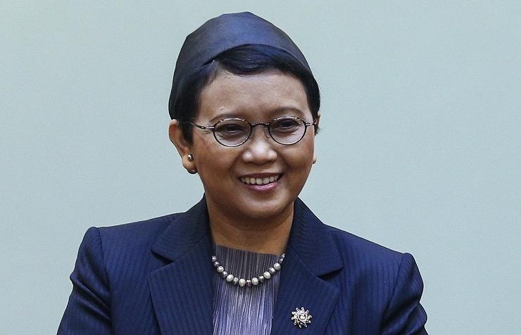 Indonesia's Foreign Minister Retno Marsudi