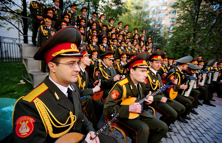The Alexander Alexandrov Song and Dance Ensemble of the Russian Army and Navy