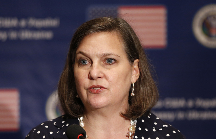 Assistant Secretary for European and Eurasian Affairs Victoria Nuland
