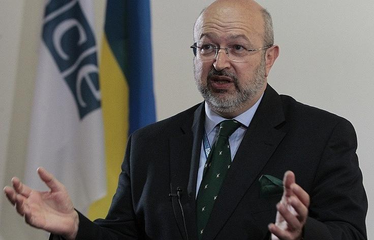 OSCE Secretary General Lamberto Zannier