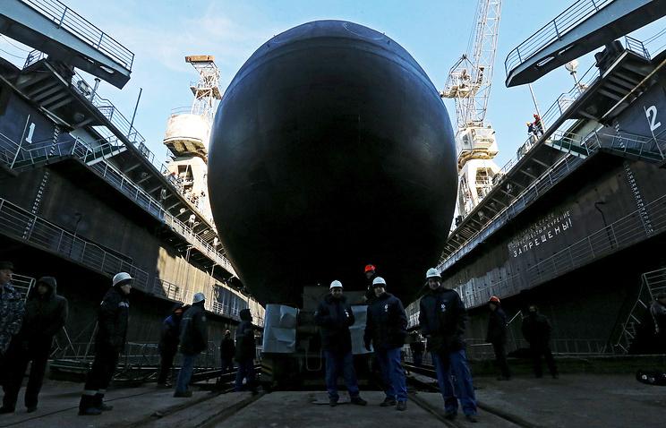 Project 636.3 submarine