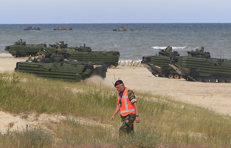 NATO drills in Poland