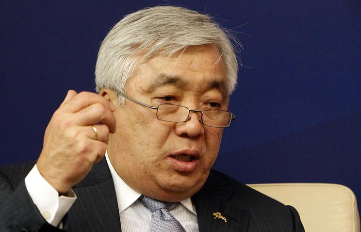 Kazakhstan's Foreign Minister Erlan Idrissov