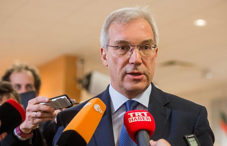 Russian Permanent Representative to NATO Alexander Grushko