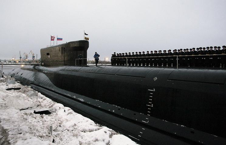 Dolgorukiy-class submarine Alexander Nevsky