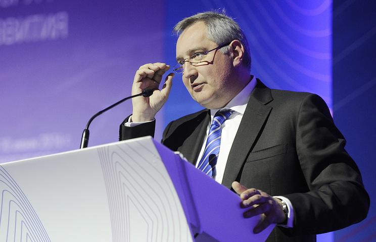 Russian Deputy Prime Minister and president's special envoy for Transdniestria Dmitry Rogozin