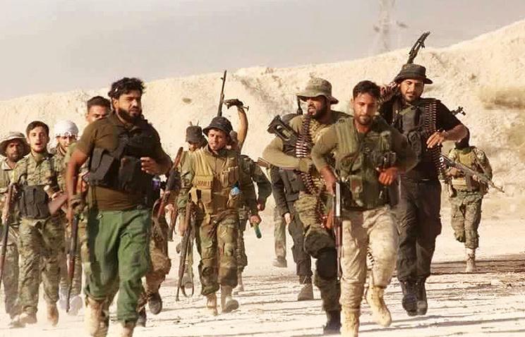 Militants in Syria (archive)