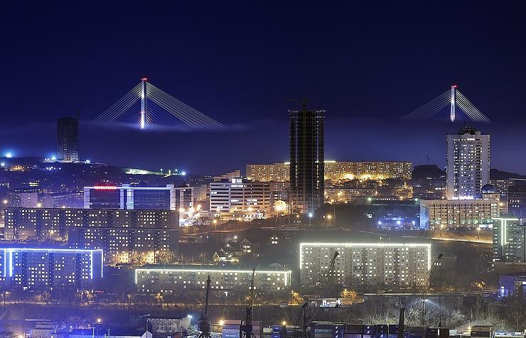 A view of Vladivostok