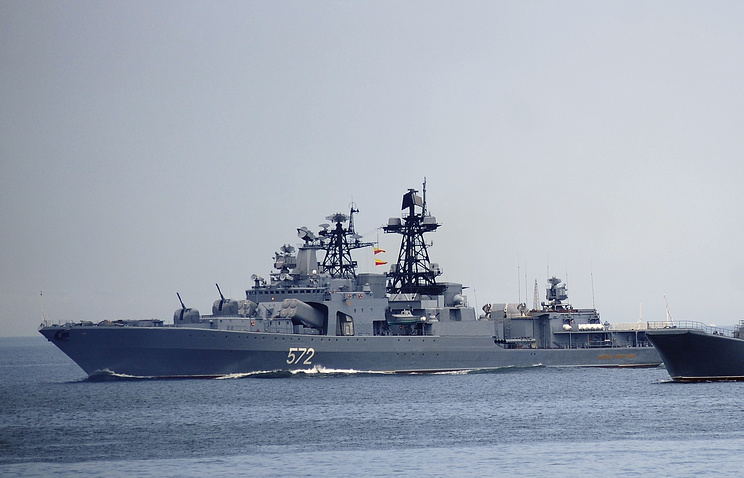 Anti-submarine ship of Project 1155