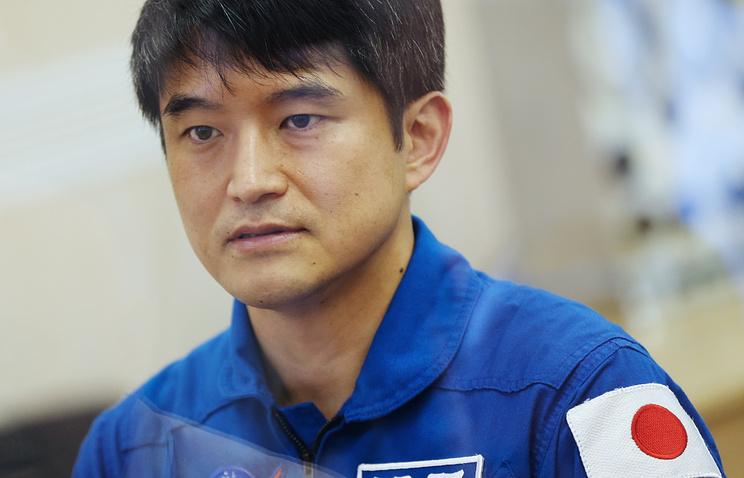 Japanese astronaut Takuya Onishi