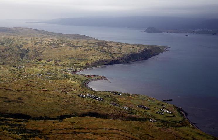 Shumshu island of the Kuril Islands chain