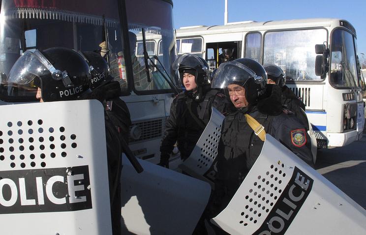 Kazakhstani police