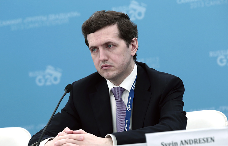 Director of the Department for International Financial Relations of the Finance Ministry Andrey Bokarev