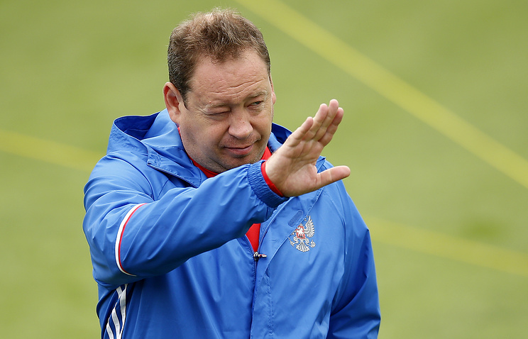 Russian national football team's ex-Head Coach Leonid Slutsky