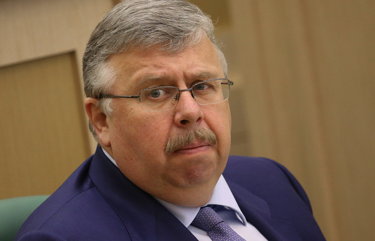 Head of the Federal Customs Service Andrei Belyaninov
