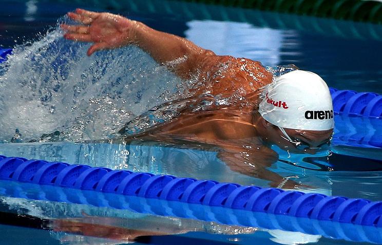 Russian swimmer Vladimir Morozov