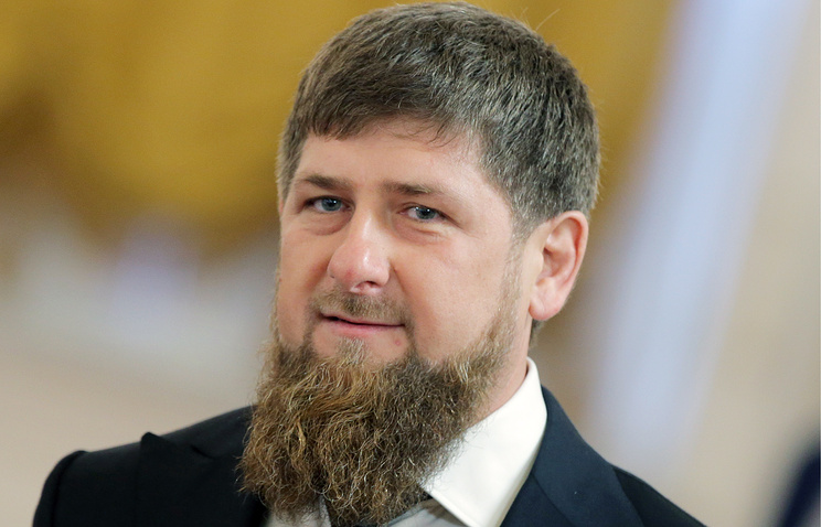 Ramzan Kadyrov, the acting head of Chechnya