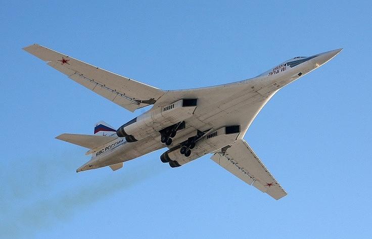 Tupolev Tu-160 strategic bomber