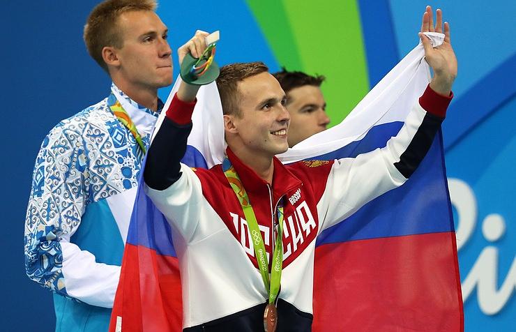 Swimmer Anton Chupkov