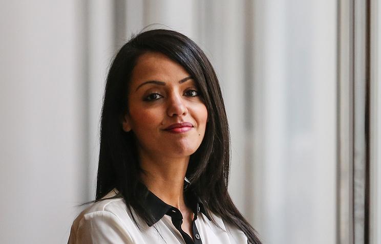 German Foreign Ministry spokeswoman Sawsan Chebli
