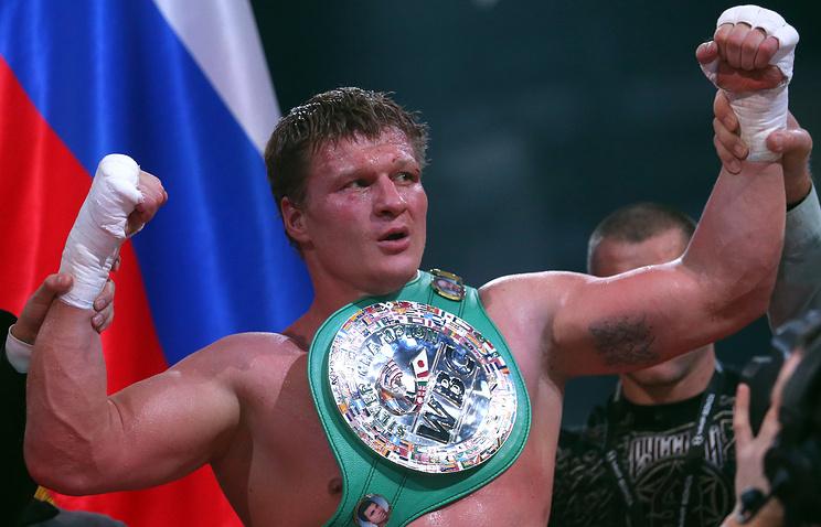 Russian boxer Alexander Povetkin