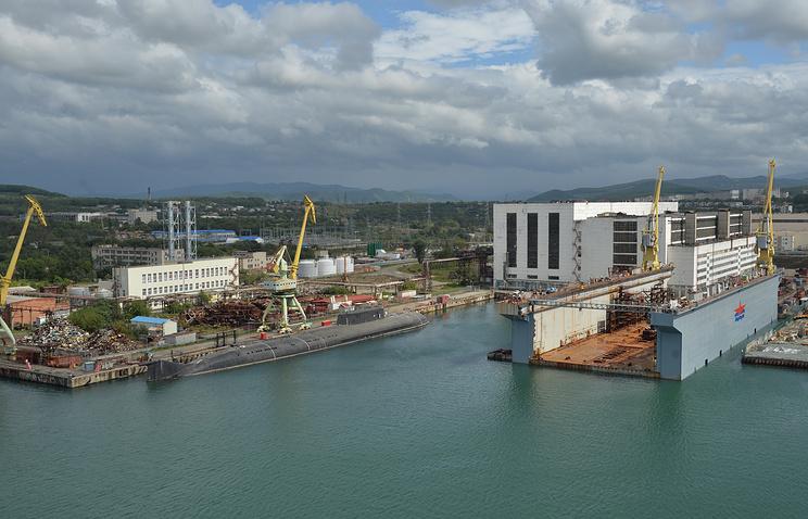 Zvezda shipyard