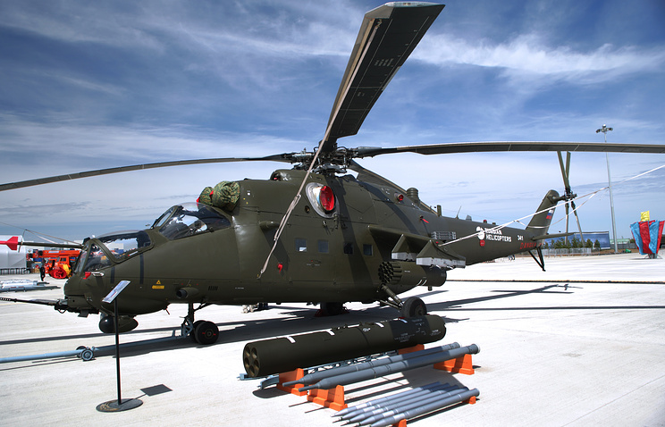 Mil Mi-35M helicopter (archive)
