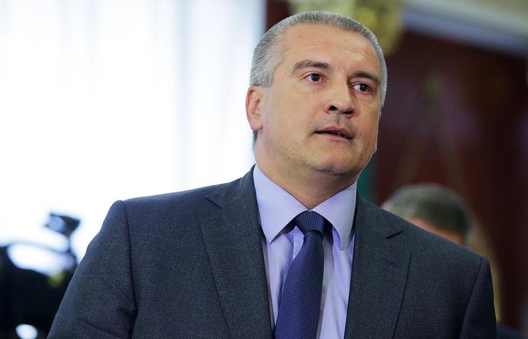 Head of Russia's Republic of Crimea Sergei Aksyonov