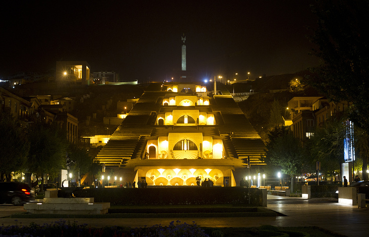 The Grand Cascade, one of the top destinations in Yerevan
