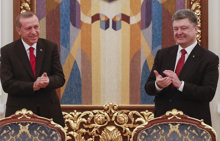 Erdogan, Poroshenko