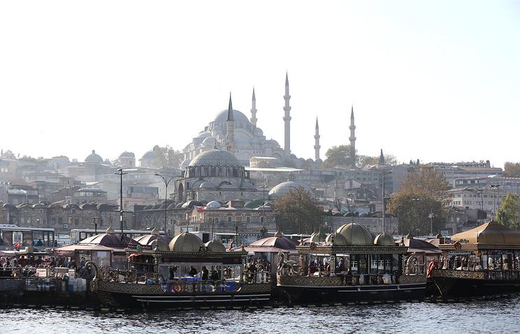 Ottoman area in Istanbul, Turkey