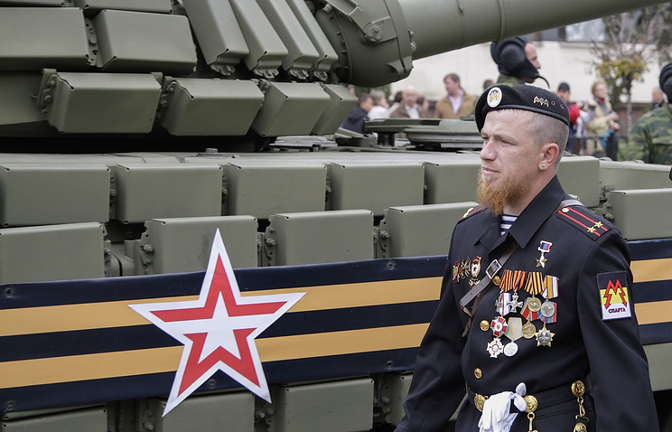 Arseny Pavlov, a DPR militia leader also known as Motorola
