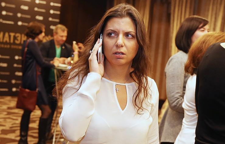 RT Editor-in-Chief Margarita Simonyan
