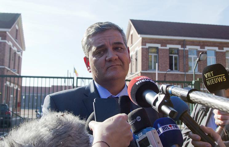 Belgian Defense Minister Steven Vandeput