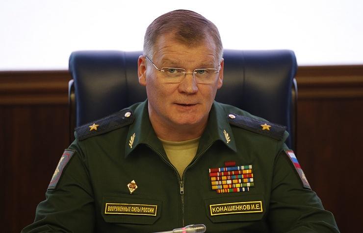 Russian Defense Ministry spokesman, Major General Igor Konashenkov