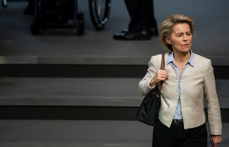 German Defense Minister Ursula von der Leyen
