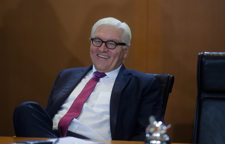 German Foreign Minister Frank Walter Steinmeier