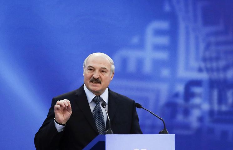 Belarus's President Alexander Lukashenko