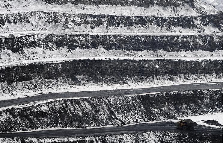 Coal production in Yakutia