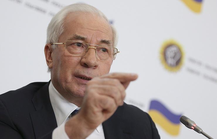 Former Ukrainian Prime Minister Nikolai Azarov