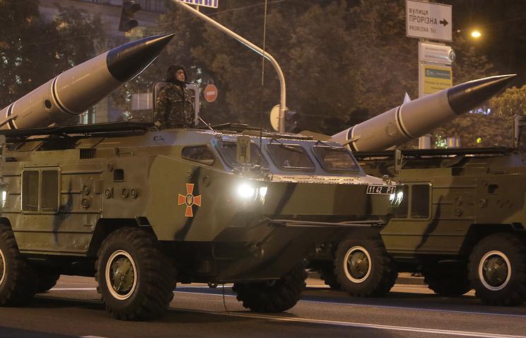 Ukrainian missile launch vehicles