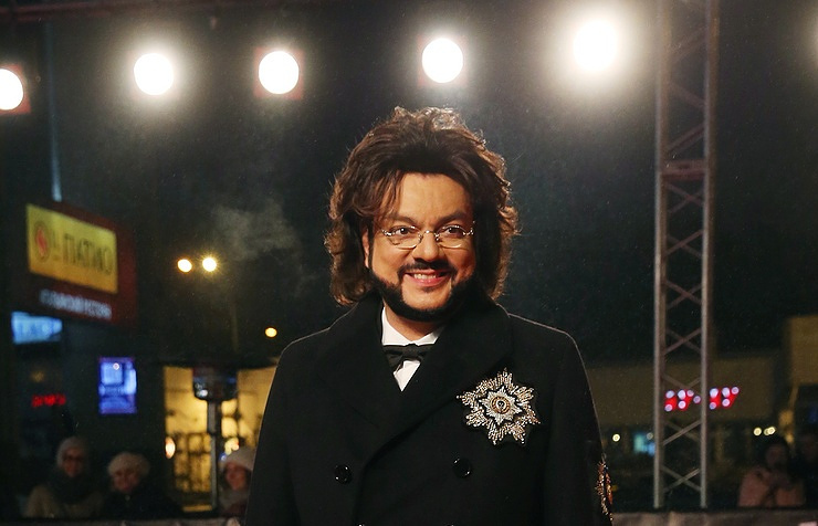 Russian pop singer Philipp Kirkorov
