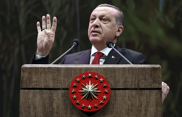 Erdogan signs bill to ratify Turkish Stream gas pipeline project