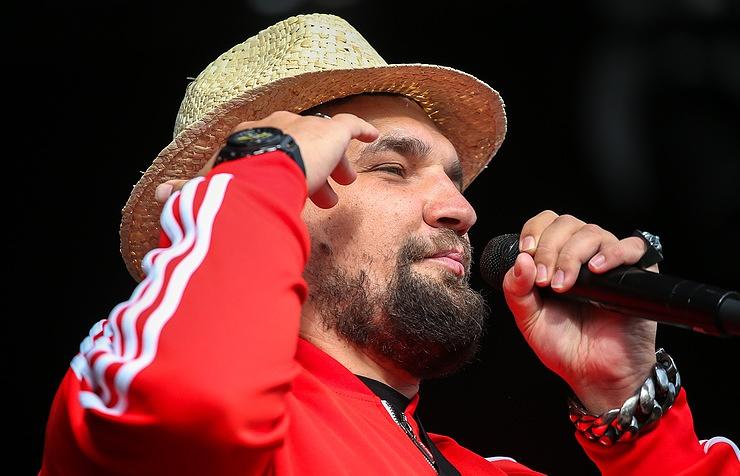 Russian rapper Basta