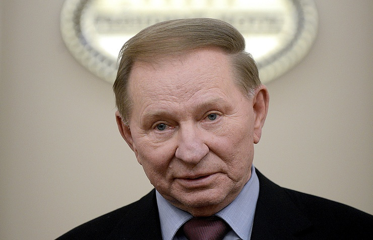 Kiev's envoy to Contact Group Leonid Kuchma